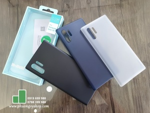 Ốp lưng Galaxy Note 10 Plus - Memumi siêu mỏng 0.3mm